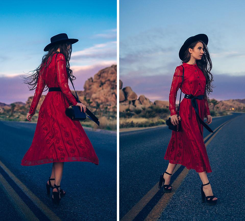 Những chiếc đầm đỏ siêu quyến rũ 10