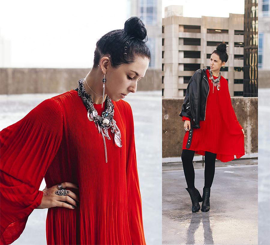Những chiếc đầm đỏ siêu quyến rũ 2