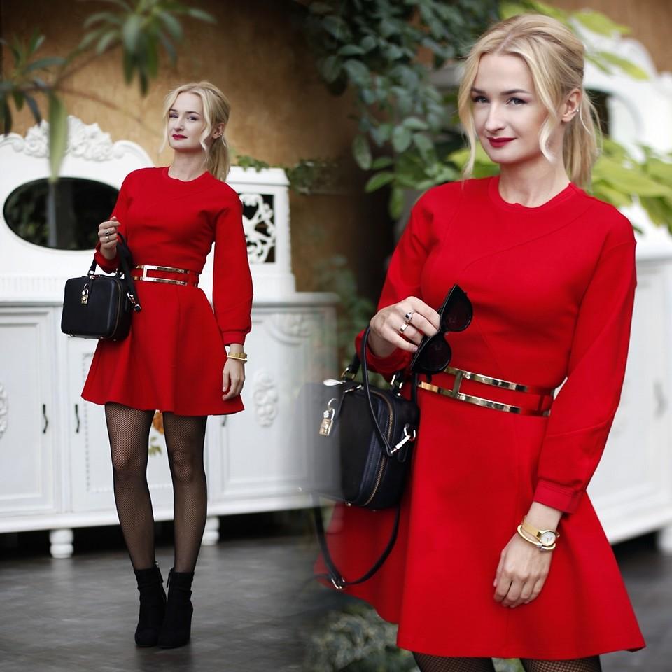 Những chiếc đầm đỏ siêu quyến rũ 3