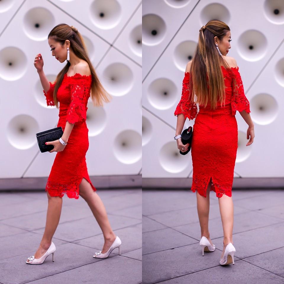 Những chiếc đầm đỏ siêu quyến rũ 4