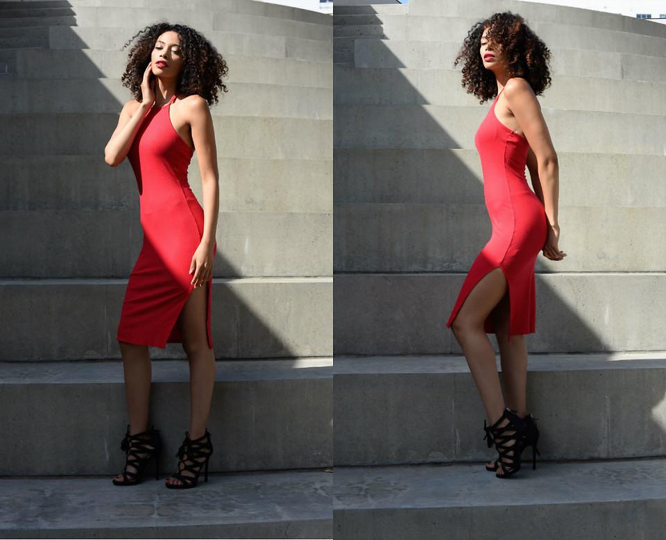 Những chiếc đầm đỏ siêu quyến rũ 6