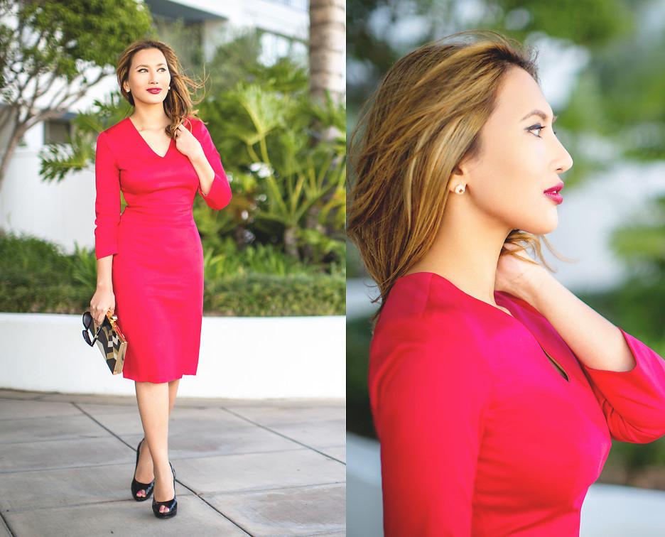 Những chiếc đầm đỏ siêu quyến rũ 7