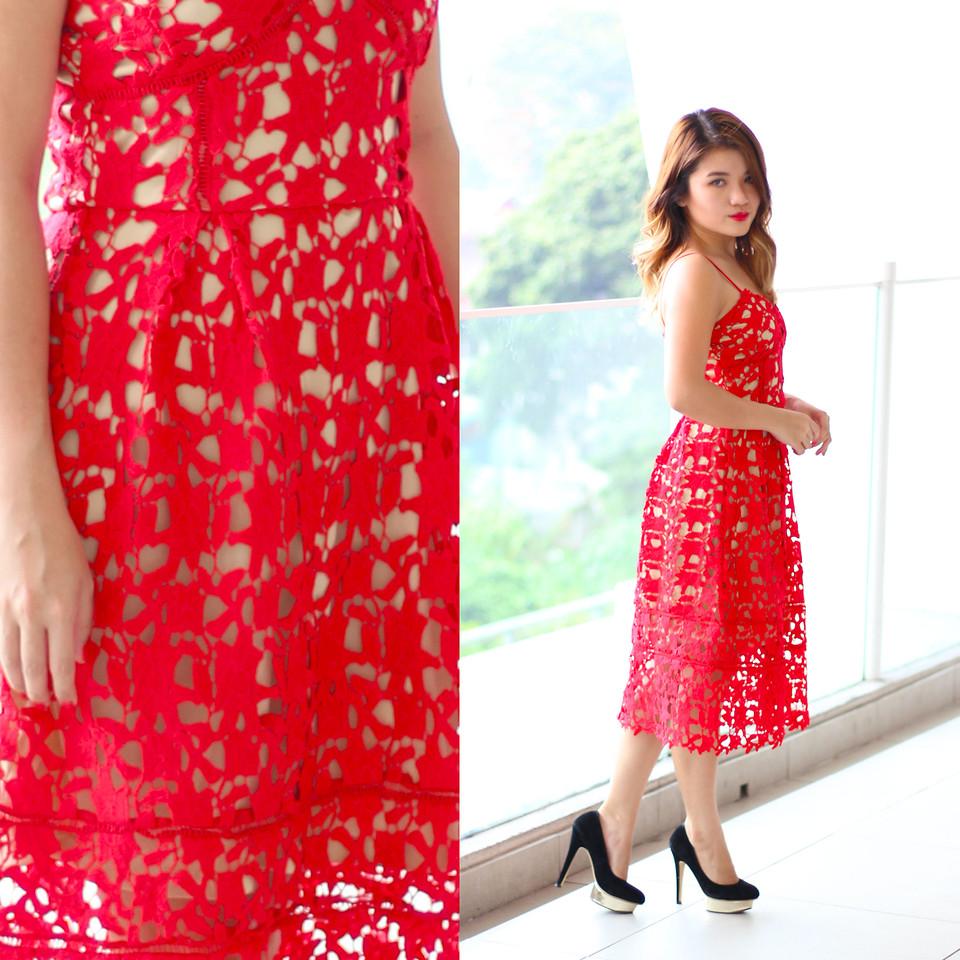 Những chiếc đầm đỏ siêu quyến rũ 9