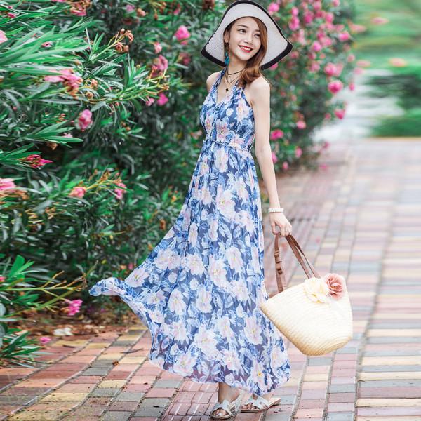 Image result for Mẫu đầm maxi đẹp nhất 2018