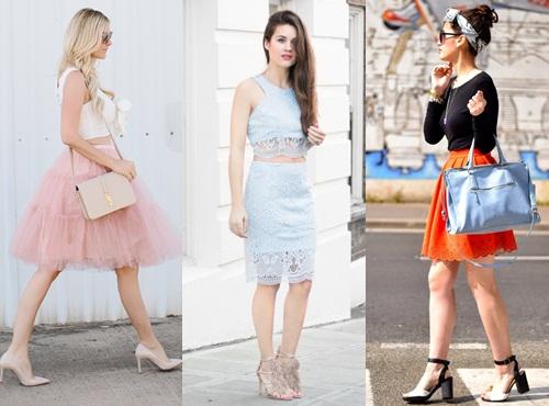 Gợi ý cách phối đồ đẹp, cuốn hút mọi ánh nhìn với chân váy nữ tính hot nhất hè 2017