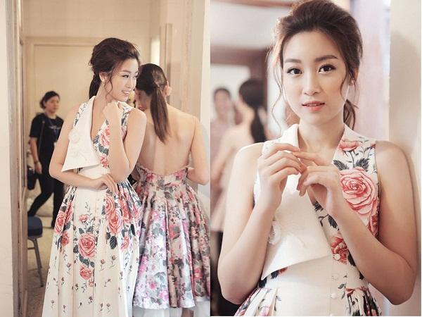 Bộ trang phục của Hoa hậu Mỹ Linh có điều gì khiến tất cả phải ngỡ ngàng khi cô xuất hiện?