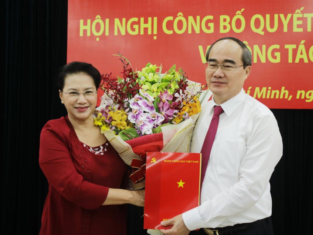 Ông Nguyễn Thiện Nhân làm Bí thư TP.HCM