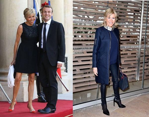 Thời trang không hàng hiệu vẫn 'cực chất' của vợ tân Tổng thống Pháp