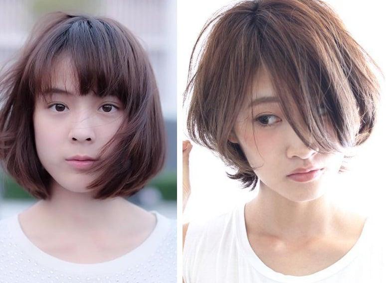 Những kiểu tóc ngắn thời thượng 2018 hợp với khuôn mặt tròn béo