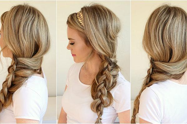 4 kiểu tóc dự tiệc cho bạn thêm quyến rũ