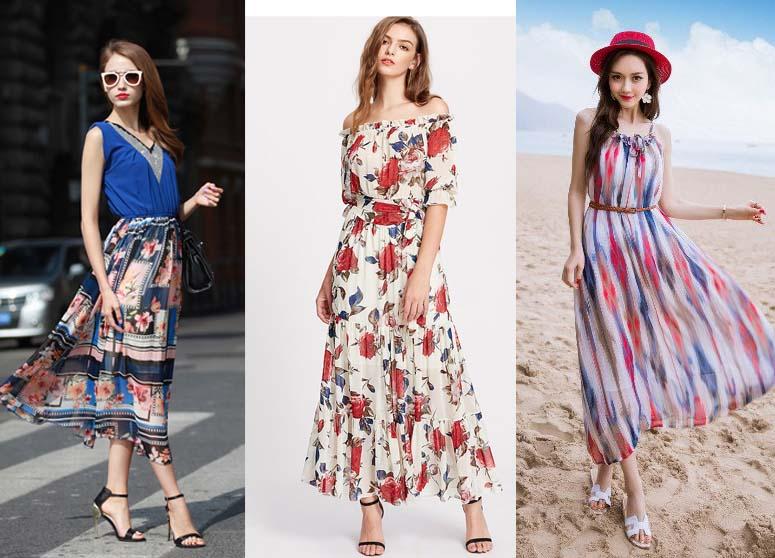 5 kiểu váy maxi tuyệt đẹp cho các nàng 'xinh như mộng' trong những ngày đầu thu