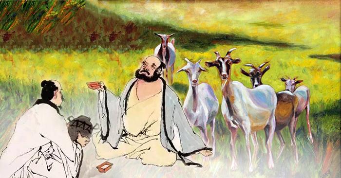 Bài học nhân sinh 'quý hơn vàng' từ câu chuyện người đốn củi và kẻ chăn dê