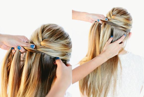 Mách bạn cách tết tóc kiểu xương cá