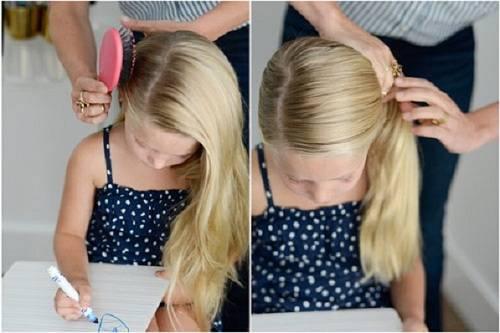 Mách mẹ cách buộc tóc đẹp và xinh cho bạn gái