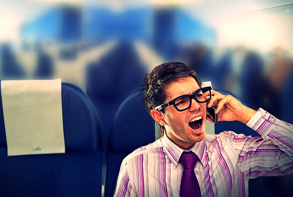 '. Vì sao phải tắt điện thoại khi đi máy bay? .'