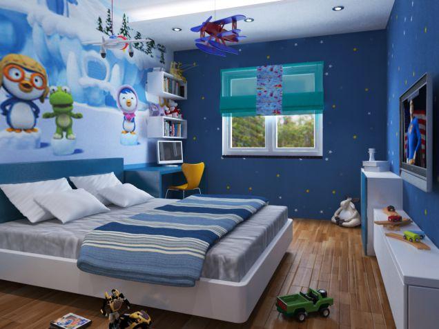 Image result for bố trí đồ vật trong phòng ngủ của bé
