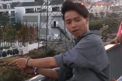 Đối tượng Quang, người trực tiếp nổ súng bắn anh P.
