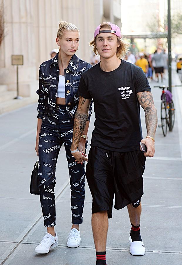 Justin và Hailey.
