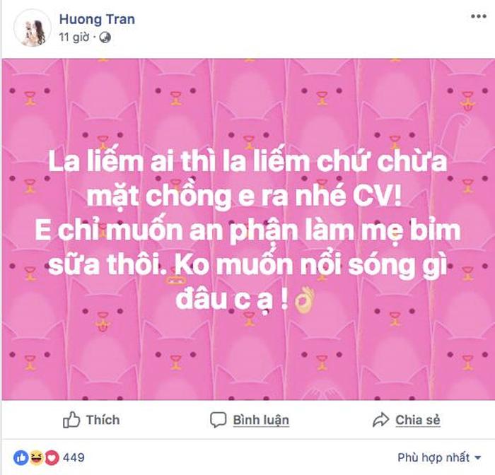Dòng trạng thái đầy ẩn ý của vợ diễn viên Việt Anh được coi là ngầm