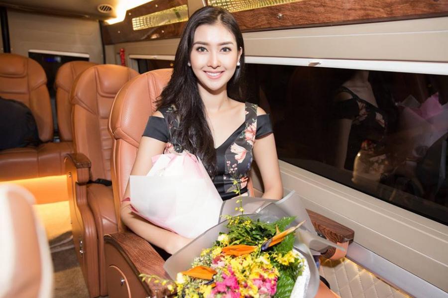 Miss International 2017 – Kevin Lilliana đã có mặt tại Việt Nam để tham dự chung kết Hoa hậu Việt Nam 2018.