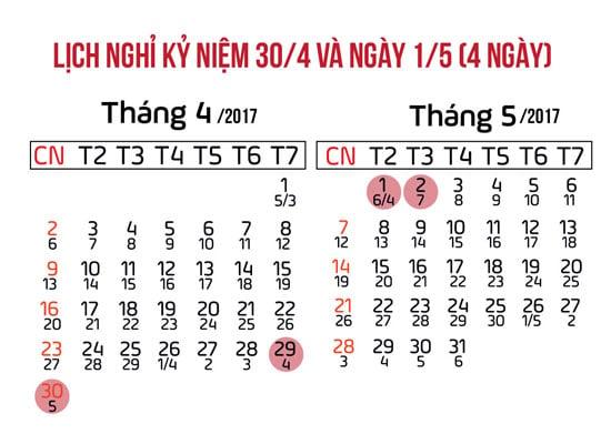 lich-nghi-dip-30-4-va-1-5-nam-2017 - phunutoday