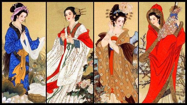 """'. Top mỹ nhân """"nghiêng nước nghiêng thành"""" Châu Á thời cổ đại .'"""