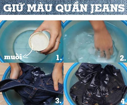 Kết quả hình ảnh cho quần jeans không bị phai màu