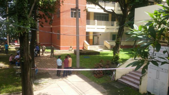 Cái chết bí ẩn của sinh viên trong KTX ĐH Sư Phạm Kĩ Thuật