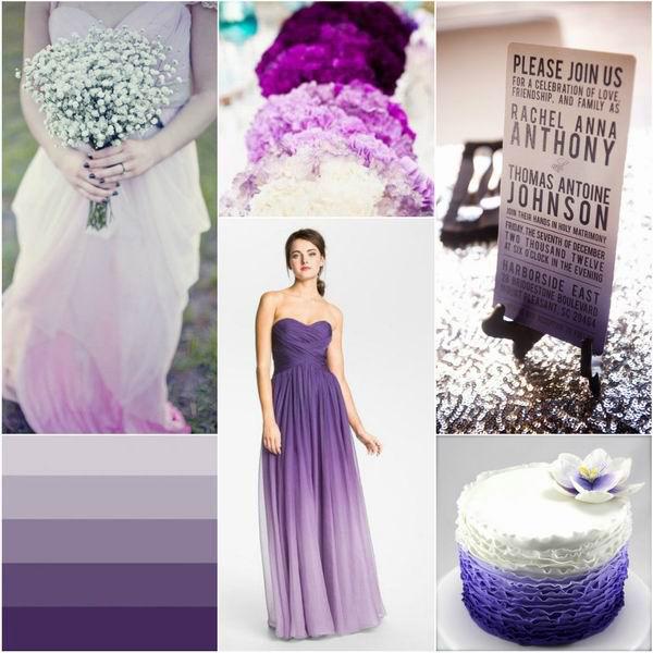 Xu hướng váy cưới ombre cho năm 2014