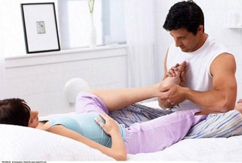 Biện pháp khắc phục chứng tê chân tay ở bà bầu