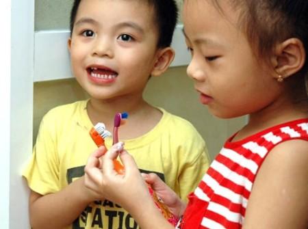 Cần chọn bàn chải đáng răng phù hợp cho bé