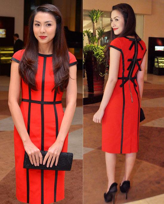 Mách chị em cách chọn váy công sở đẹp như Tăng Thanh Hà