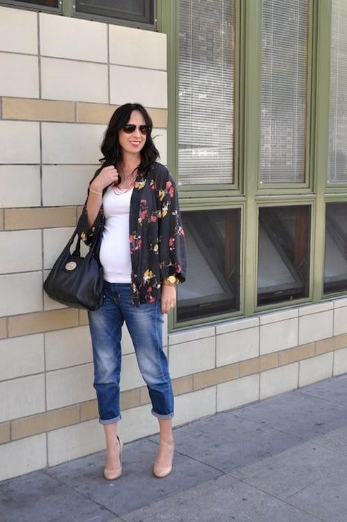 Quần jeans sự lựa chọn tuyệt vời cho bà bầu trong mùa hè 2
