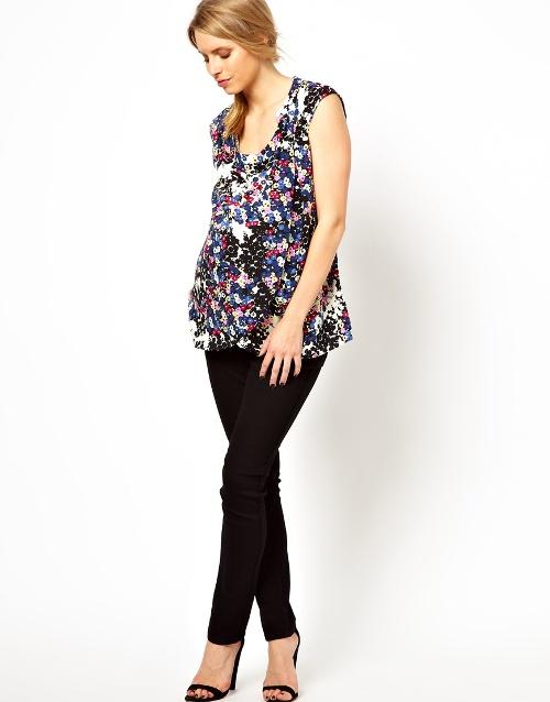 Quần jeans sự lựa chọn tuyệt vời cho bà bầu trong mùa hè 6