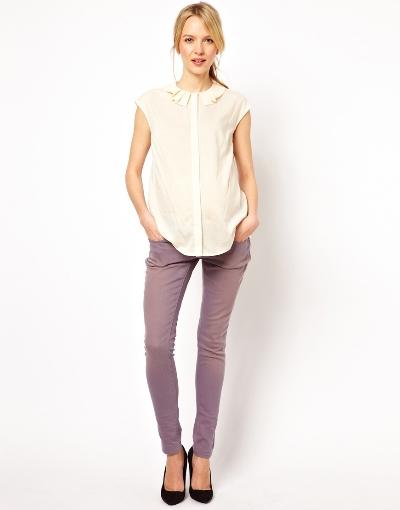 Quần jeans sự lựa chọn tuyệt vời cho bà bầu trong mùa hè 9
