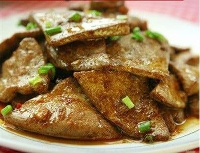Nấu ăn, món ngon, ẩm thực, gan lợn, làm đẹp, sáng da, đẹp da, sáng mắt, vitamin
