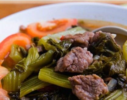 Kết quả hình ảnh cho thịt bò nấu dưa chua