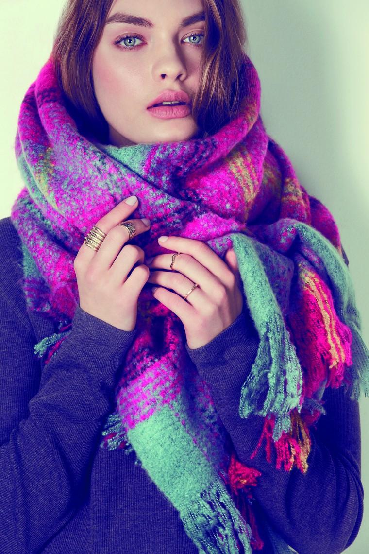 Cách quàng khăn ấm áp cho mùa đông năm nay