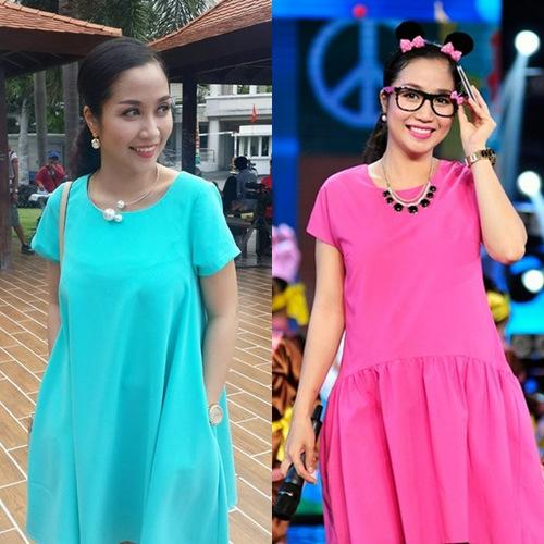 Diện thời trang bầu đẹp như 4 bà bầu Showbiz Việt 6