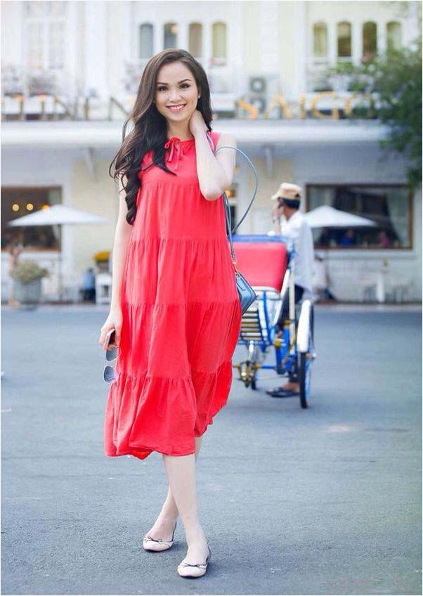 Diện thời trang bầu đẹp như 4 bà bầu Showbiz Việt 15