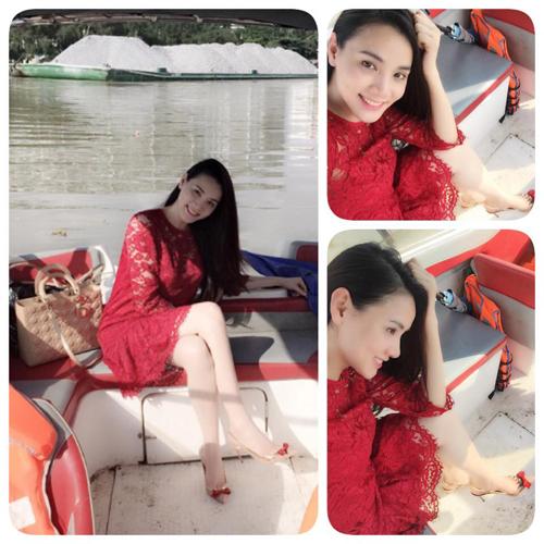Diện thời trang bầu đẹp như 4 bà bầu Showbiz Việt 13