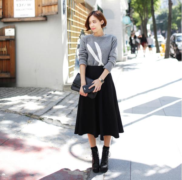 4 kiểu chân váy thu đông đẹp nhất mang lại sự cá tính và quyến rũ mà bạn gái không nên bỏ qua