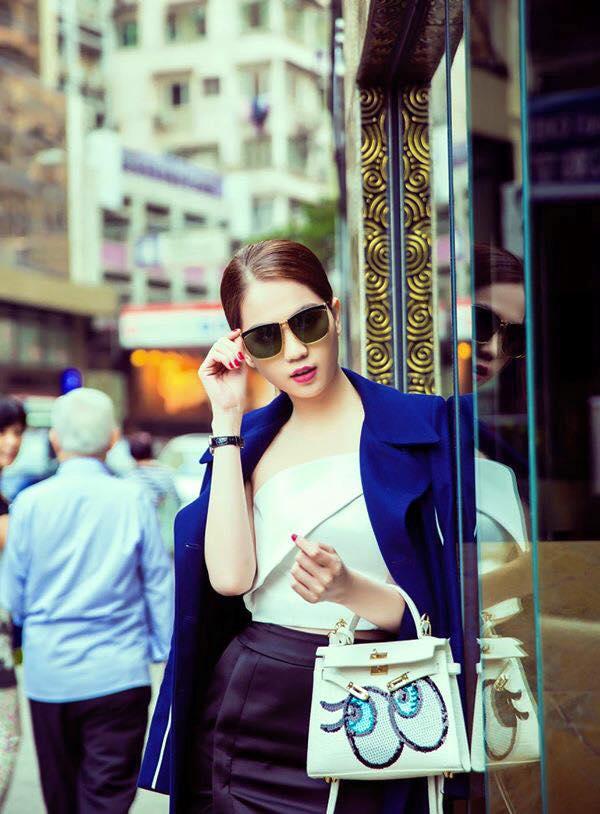 Mẫu túi xách đẳng cấp của sao Việt