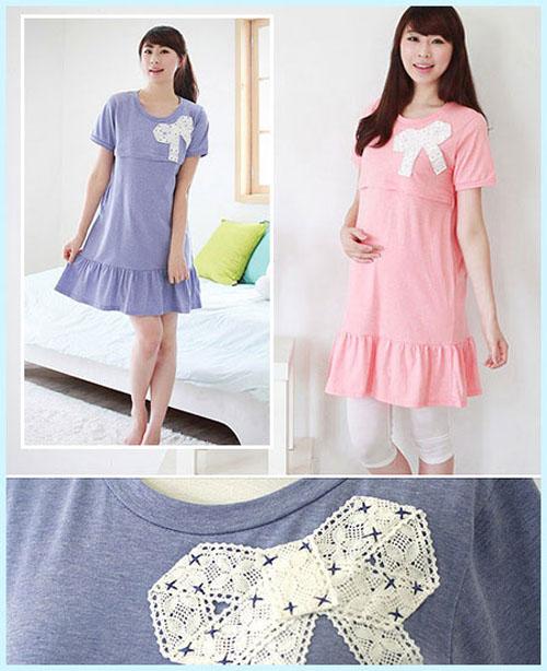 Kiểu váy áo đẹp giúp mẹ bầu tự tin và duyên dáng 17