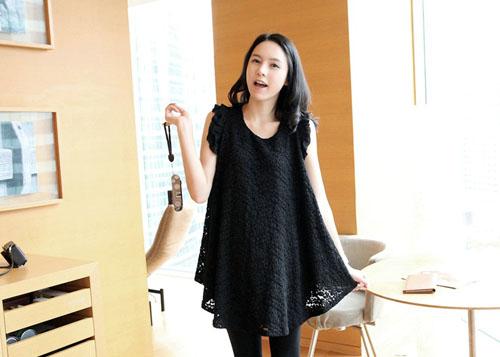 Kiểu váy áo đẹp giúp mẹ bầu tự tin và duyên dáng 6
