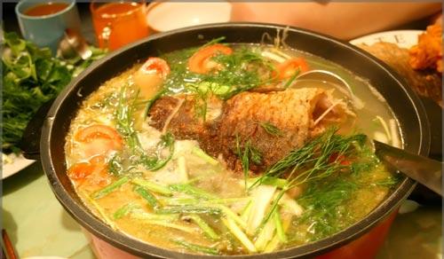 Image result for cá nấu dọc mùng