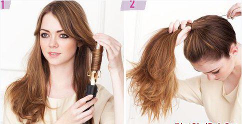 2 kiểu tóc xinh xắn, đáng yêu mà cực mát trong ngày hè