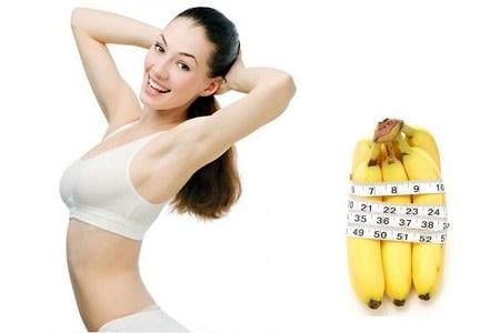 Bí quyết giảm cân tuyệt vời từ việc ăn chuối