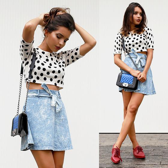 Bạn gái sành điệu với giày Oxford đa phong cách 6