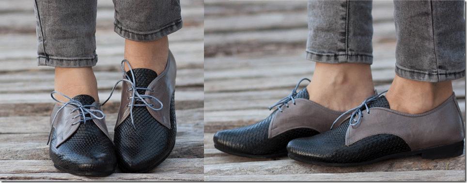 Bạn gái sành điệu với giày Oxford đa phong cách